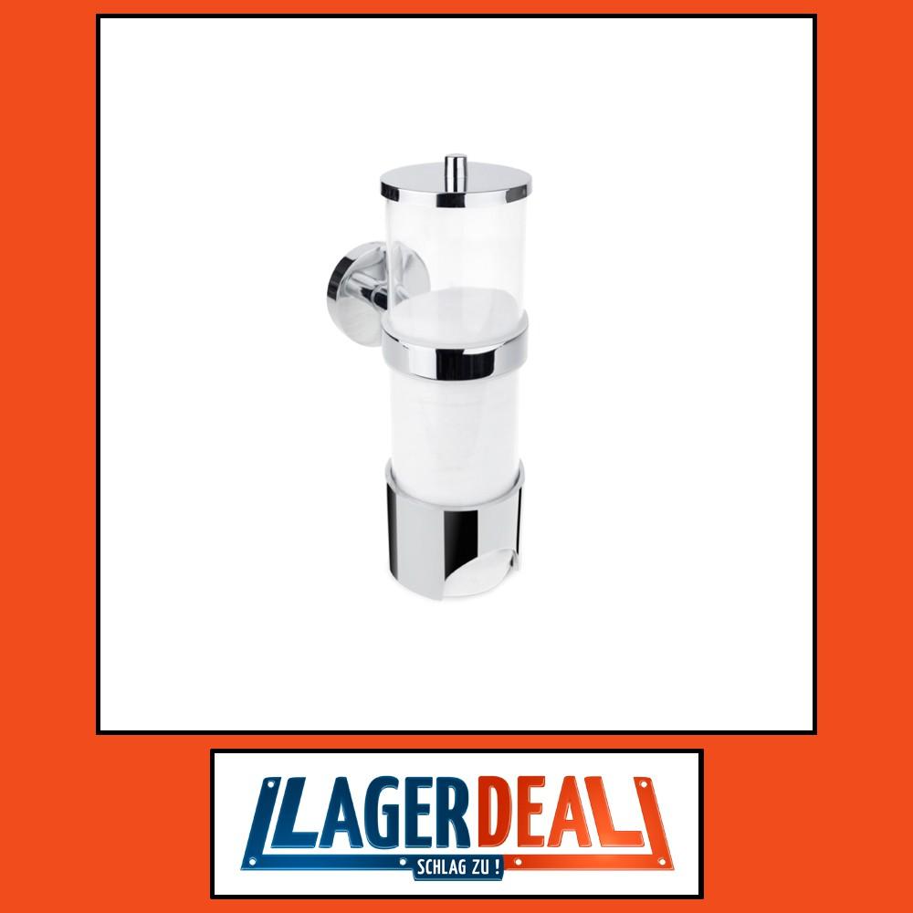 Wattepad-Spender 65 x 205 x 115 mm  PVC Chrom